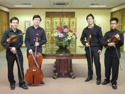 String Quartet Performance for SSA