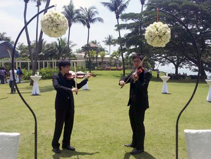 Wedding at Shangri-La Rasa Sentosa - The Rocks