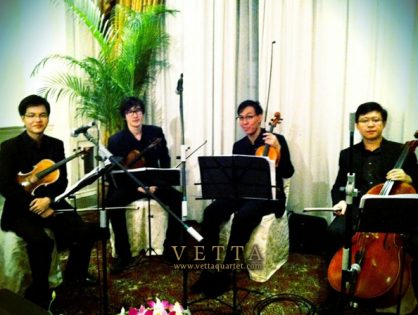 String Quartet for Malaysia-Singapore Public Service Games Dinner