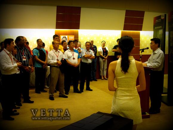 Vetta Quartet at Li Ning Singapore Open 2012