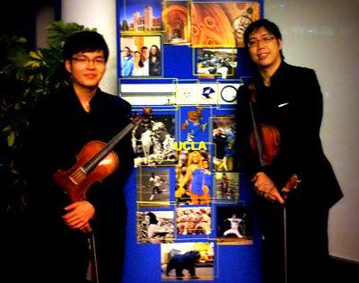 Violin Duo for UCLA Alumni Gathering at The Sail