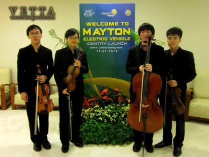 String Quartet for Product Identity Launch - Mayton Electric Vehicle
