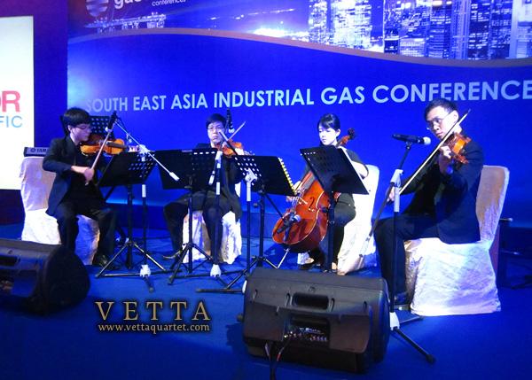 String Quartet for Gasworld Conference, Orchard Hotel