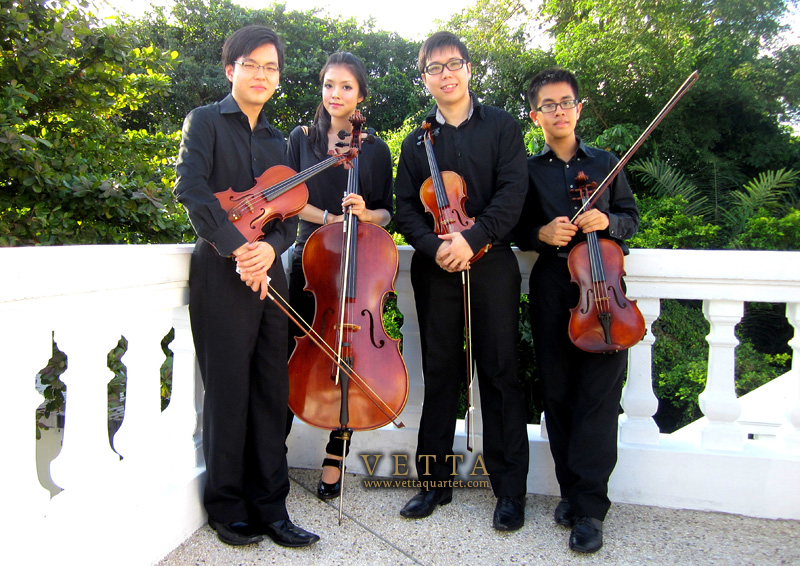 Wedding String Quartet, Alkaff Mansion Singapore