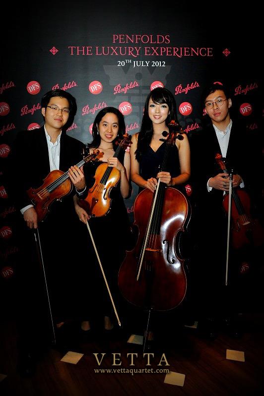 Vetta Quartet - Penfolds Corporate Event Singapore