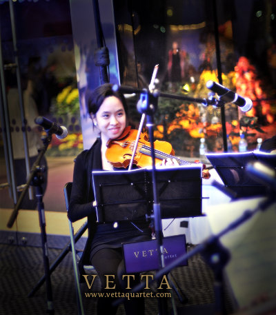 Christina - String Quartet at Gardens by the Bay Singapore