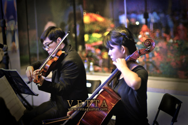 String Quartet at Gardens by the Bay Singapore