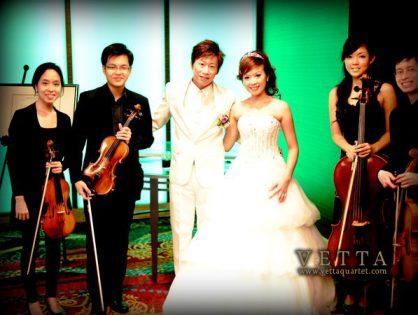 Wedding at Mandarin Orchard Hotel