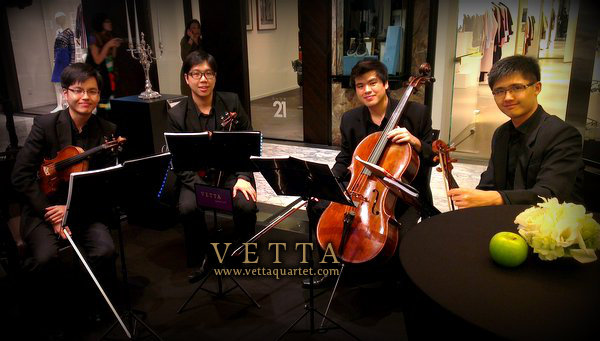 String Quartet at Hilton Singapore