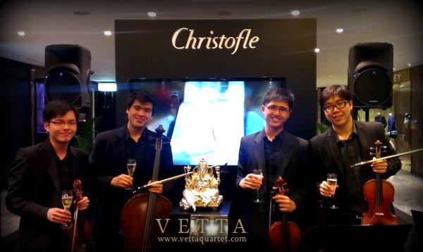 String Quartet for Christofle Singapore