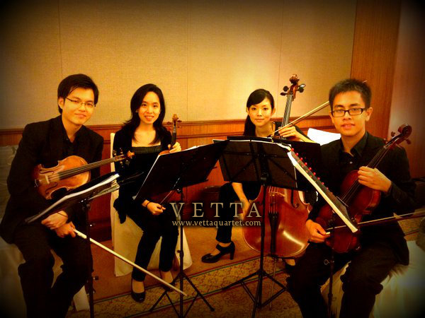 String Quartet - Wedding at The Regent