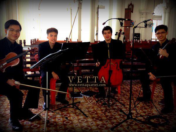 String Quartet for Wedding at Nativity Church Singapore