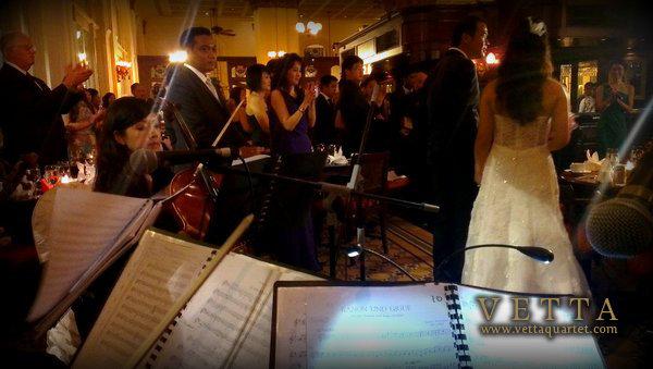 Vetta Quartet - String music for weddings
