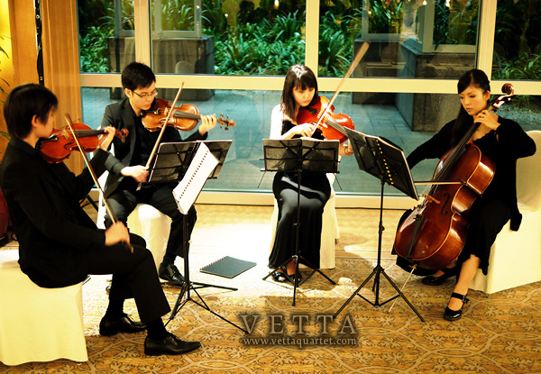 String Quartet at Ritz Carlton Singapore
