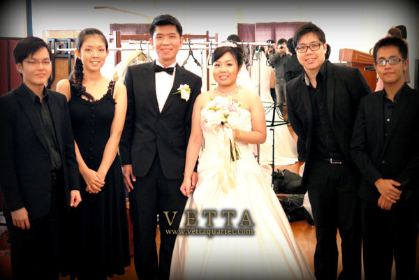 singapore wedding music - string quartet