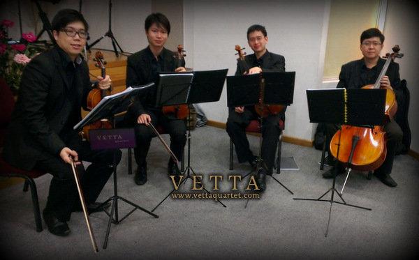 String Quartet at Wedding, Assembly Of God, Bukit Batok Singapore