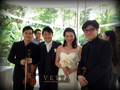 Wedding at Amara Sanctuary Resort Sentosa