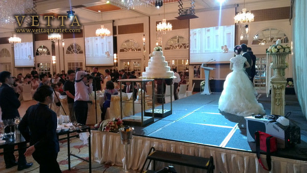 Wedding at InterContinental Singapore