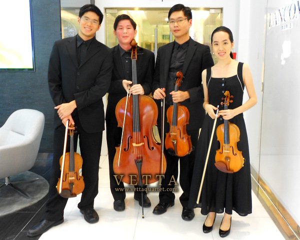 String Quartet Singapore for Corporate Events
