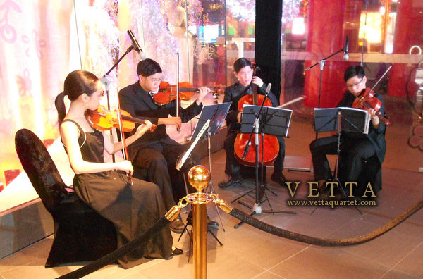 String Quartet for Tom Ford Singapore Launch