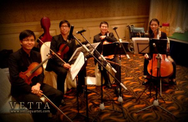 Novotel Singapore Wedding String Quartet