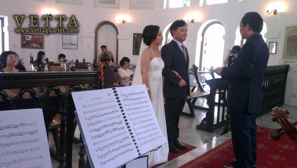 Renewal of Wedding Vows at Armenian Church