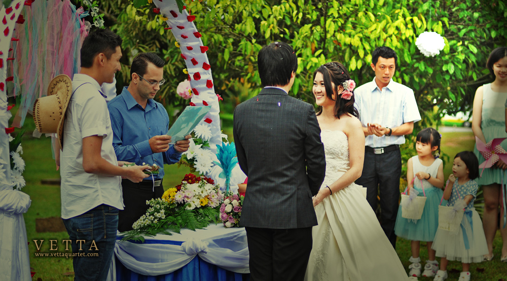 wedding at riders lodge malaysia