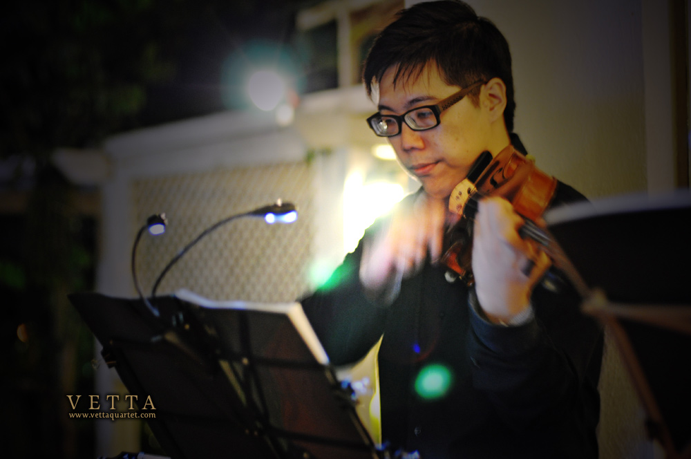 violinist of singapore string quartet