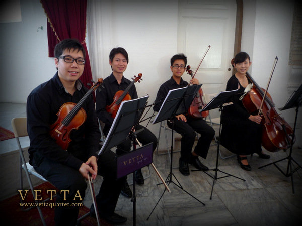 String Quartet - Armenian Church Singapore