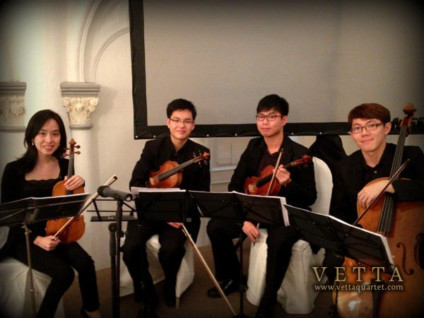 CHIJMES Wedding - String Quartet