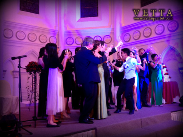 CHIJMES Wedding Toast