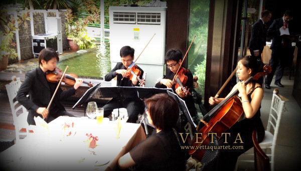 Wedding music for Suburbia Sentosa Wedding