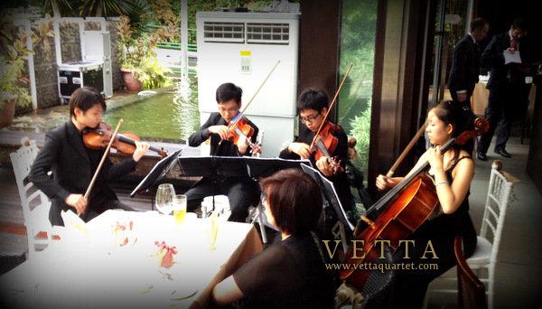 Wedding music for Suburbia Sentosa Wedding