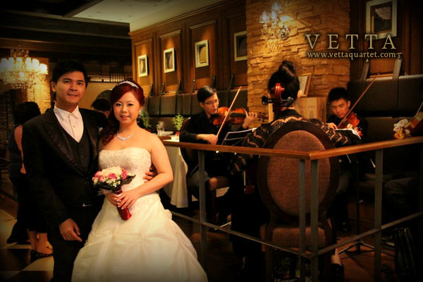Wedding at Caffe B, Marina Bay Sands