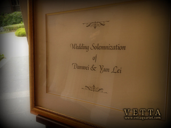 Wedding at Raffles Hotel Singapore