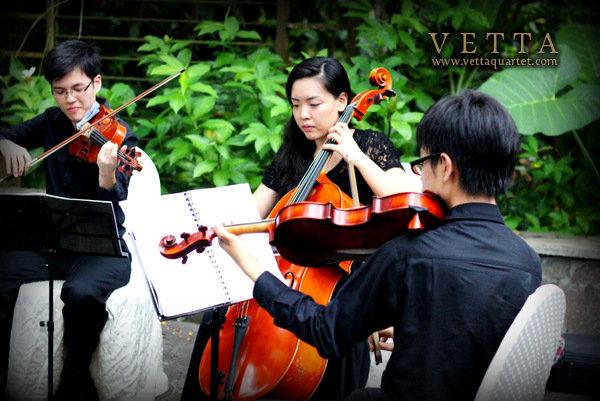string quartet singapore wedding at au jardin
