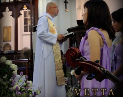 Wedding at St. Andrew's Cathedral