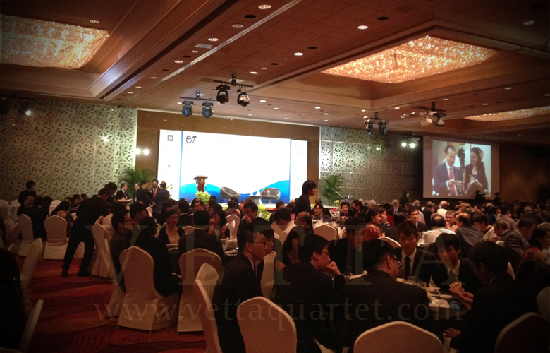 Mandarin Orchard ballroom - corporate event