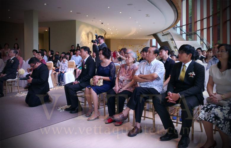 wedding string quartet - Capella Singapore