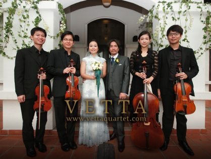 Wedding at Fort Canning