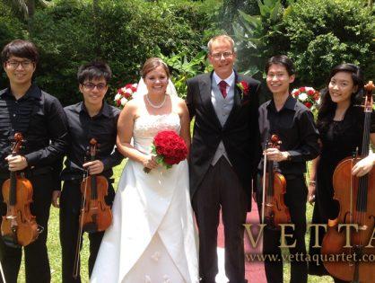 Wedding at Raffles Hotel, The Lawn