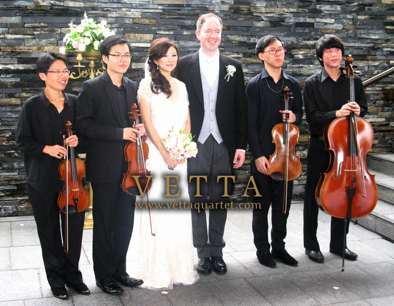 Wedding at Capella Singapore