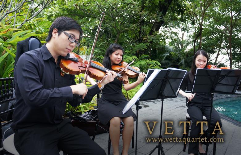 Singapore music quartet - Capella