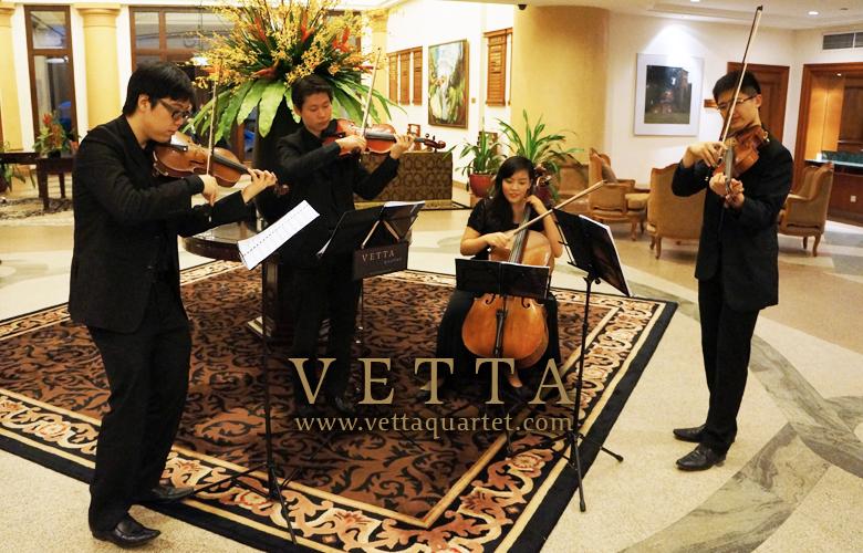 Singapore String Quartet - Function Sentosa
