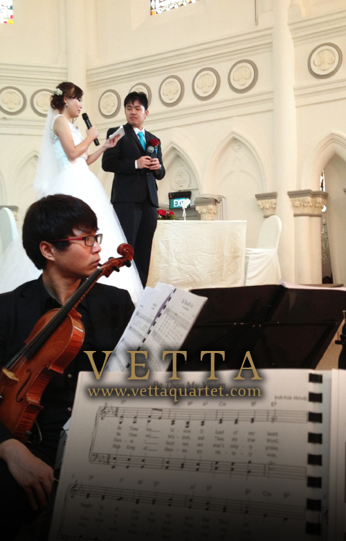 String Quartet - Wedding Singapore CHIJMES