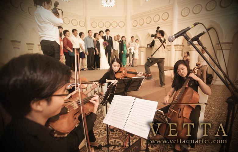 Music CHIJMES - Wedding Quartet