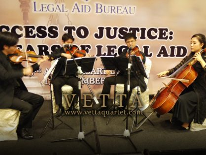 Legal Aid Bureau 55th Anniversary Dinner at Grand Copthorne Waterfront