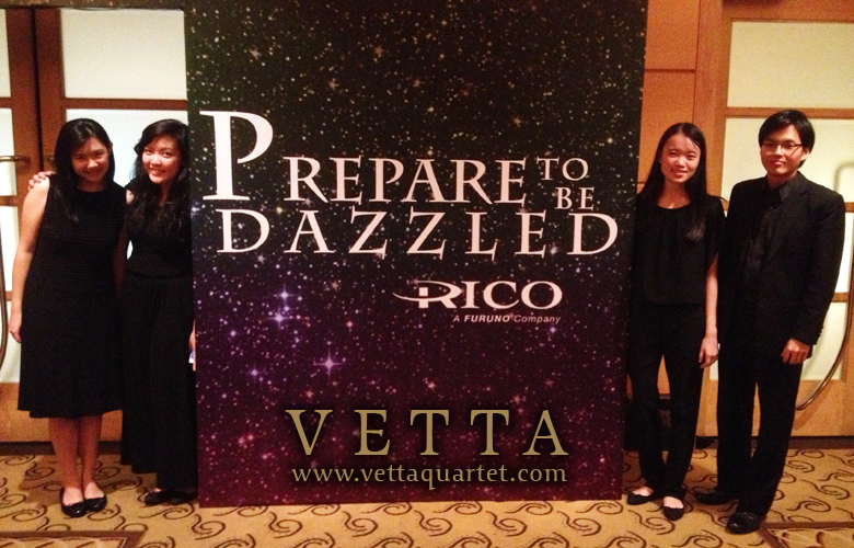 Dinner and Dance of Rico Pte Ltd at Fullerton Hotel