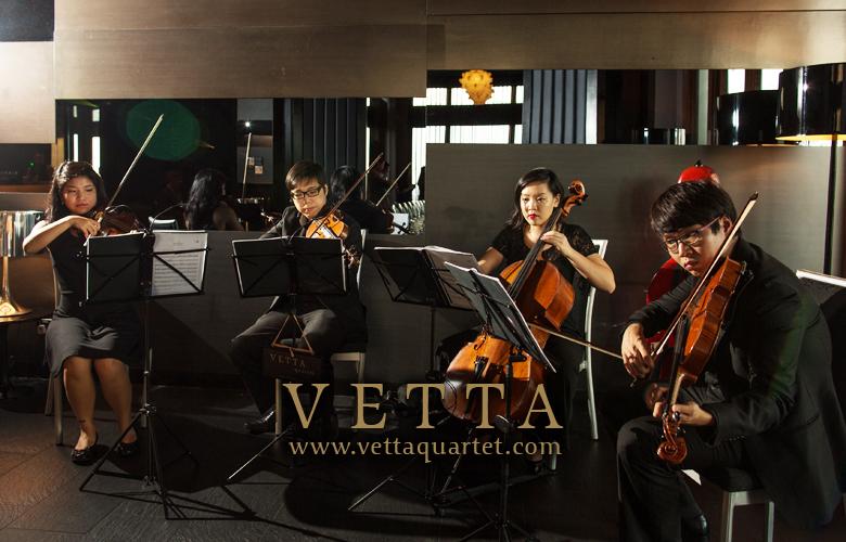 string quartet at illido singapore