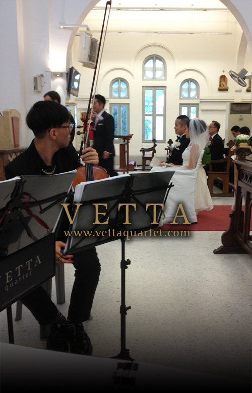 Wedding Music - String Quartet - St Teresa Church